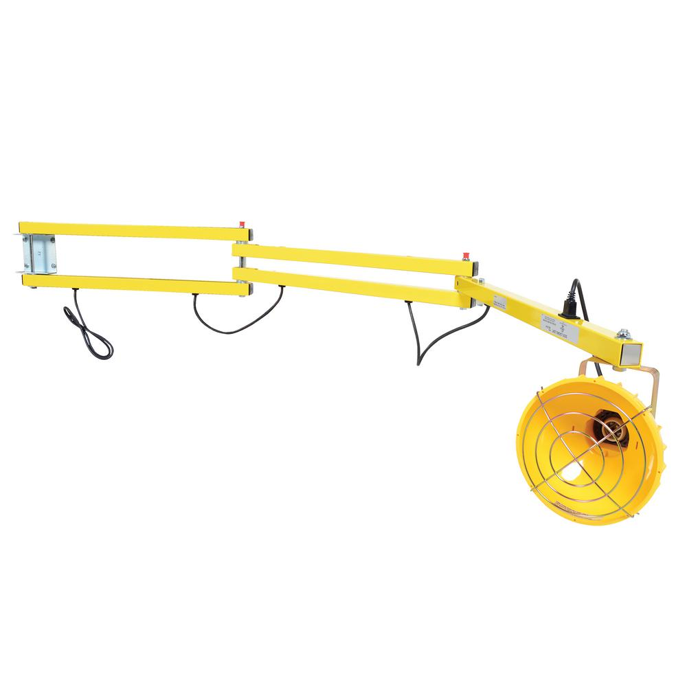 90 in. Incandescent Double Arm Load Light