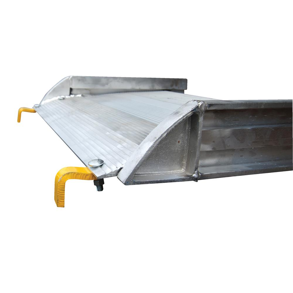 96 in. x 28 in. Aluminum Walk Ramp Hook Style