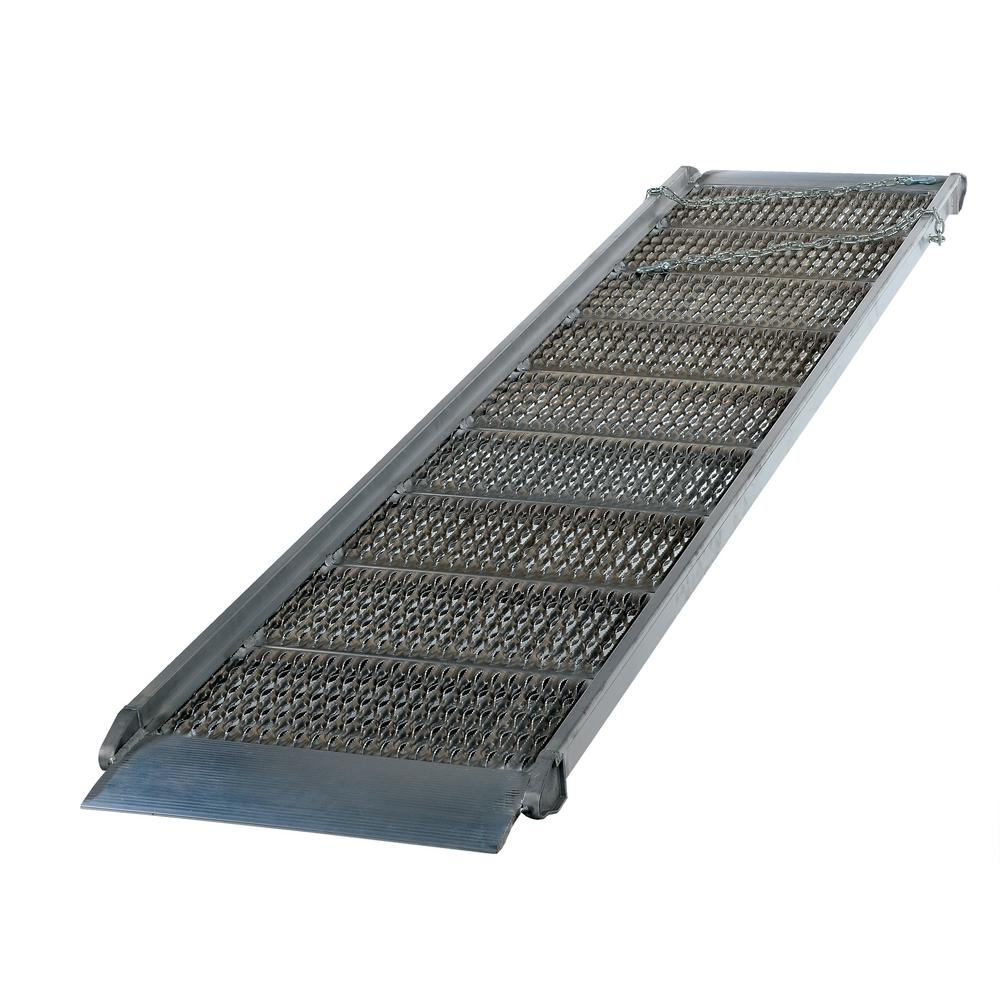 108 in. x 38 in. Aluminum Grip-Strut Walk Ramp