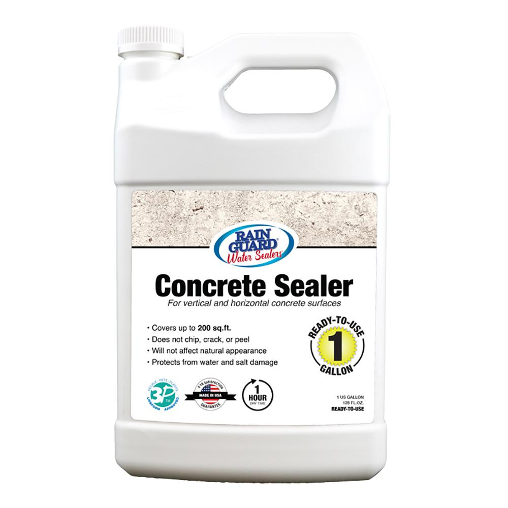 1 gal. Concrete Sealer Clear Water Based Repellent Waterproofer