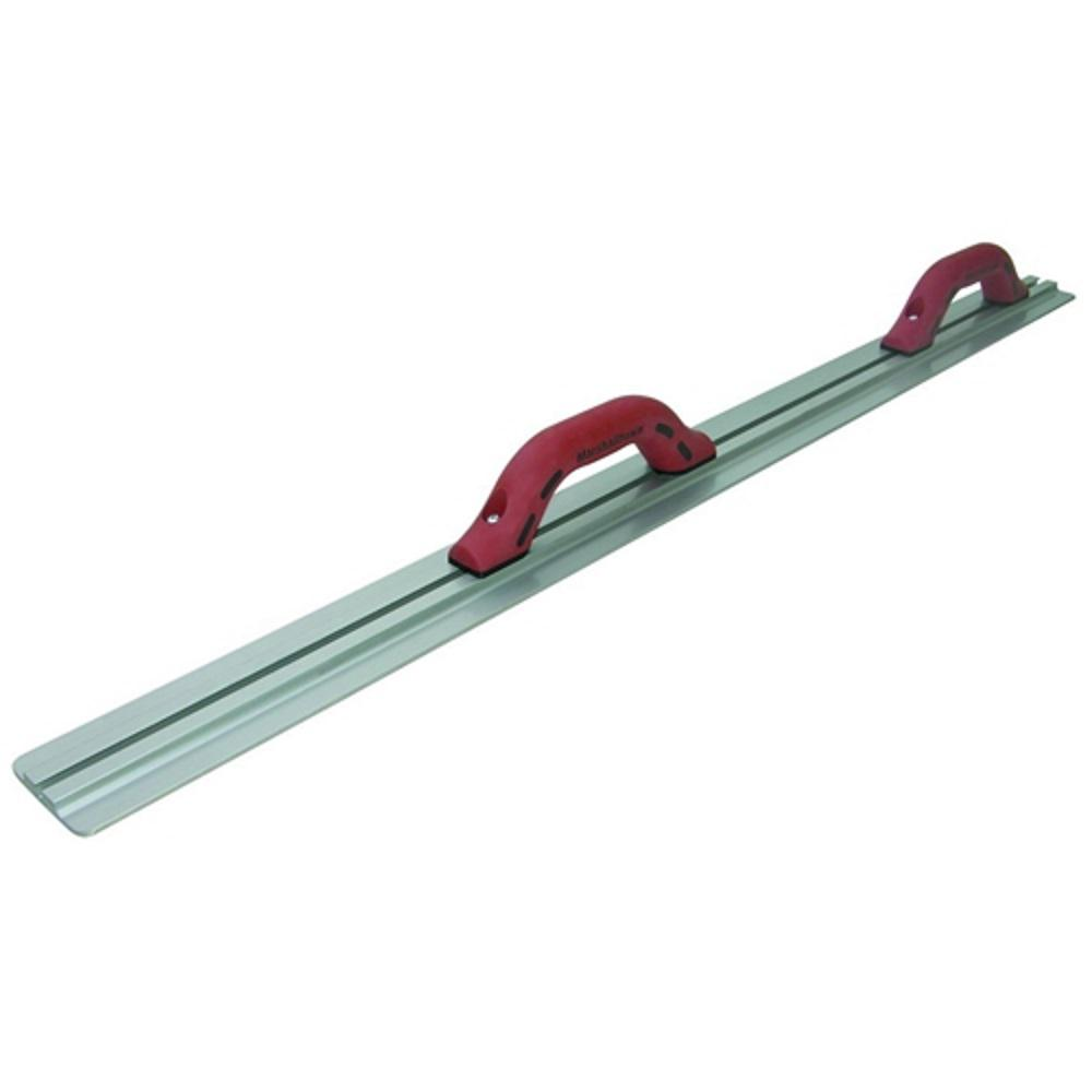 36 in. x 3-1/8 in. Magnesium T-Slot Darby with 2 DuraSoft Float Style Handles