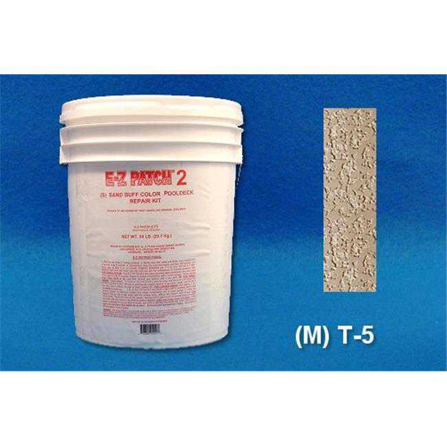 EZ Products EZP-118 50 No. POOLDECK REPAIR - - M T-5 50 LB. EACH