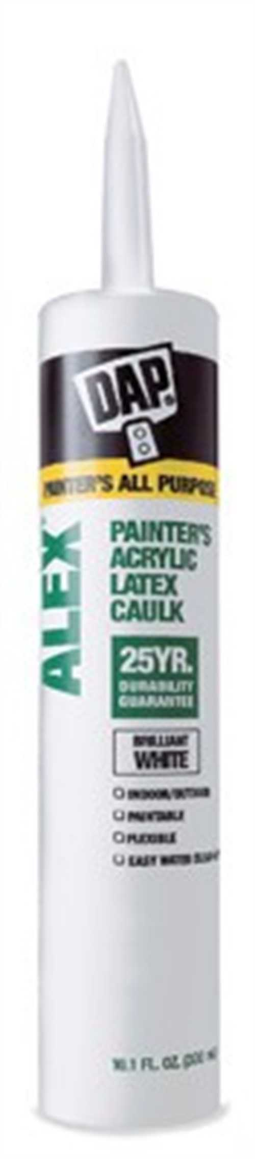 DAP Alex Painter's Caulk, 10.1 OZ White