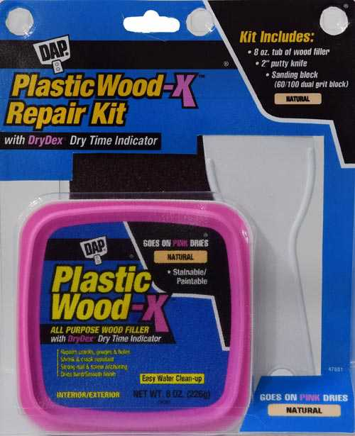 DAP Plastic Wood-x Repair Kit